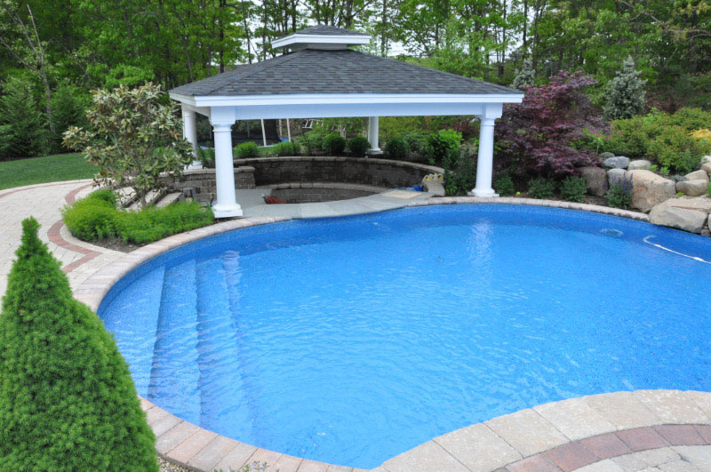 Semi inground pools in nj joy studio design gallery for Above ground pool decks nj